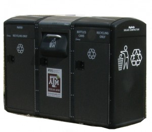 Big Belly Compact Recycling Container