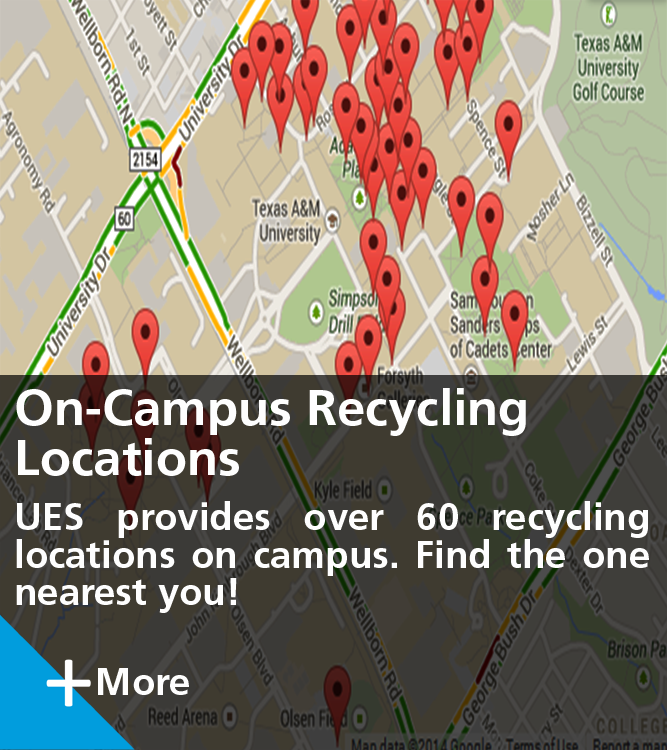 On-Campus Recycling Locations