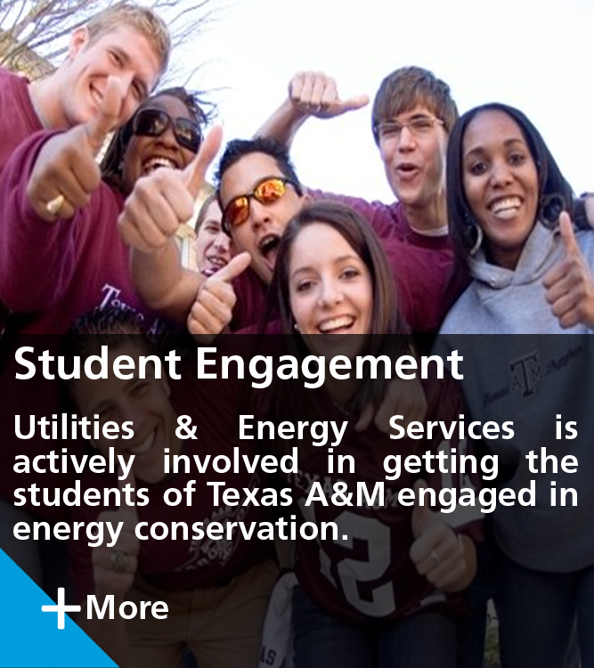 UES Involvement with the Students of Texas A&M University