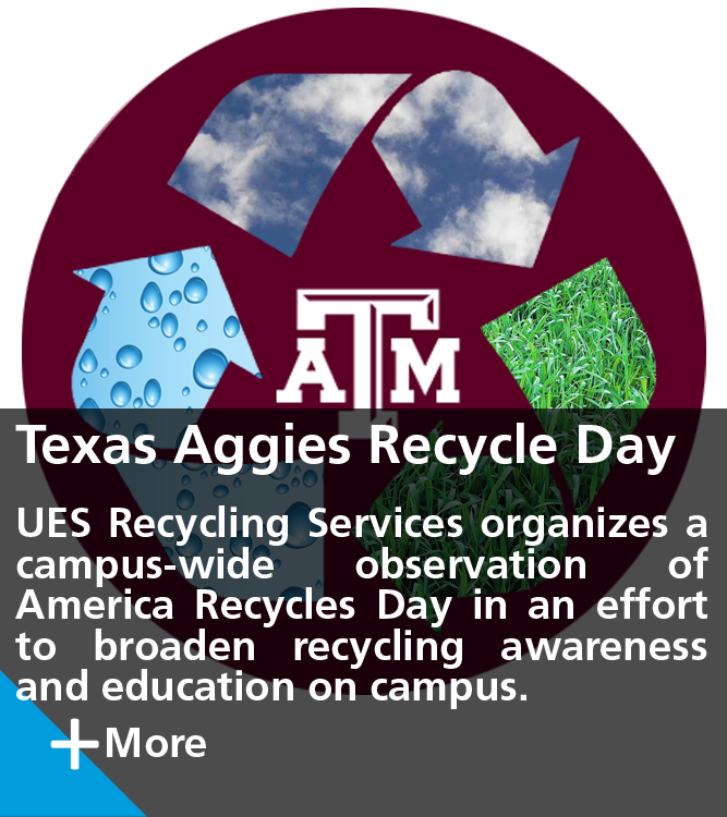 Texas Aggies Recycle Day