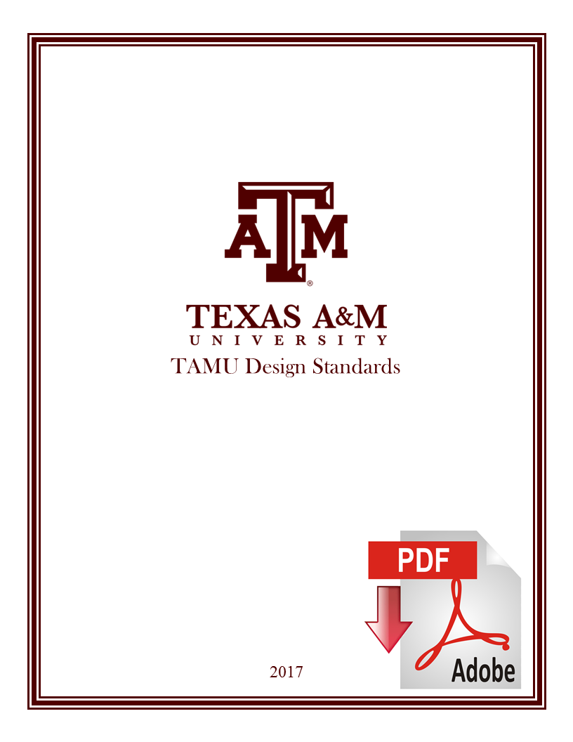 Texas A&M Design Standards Booklet