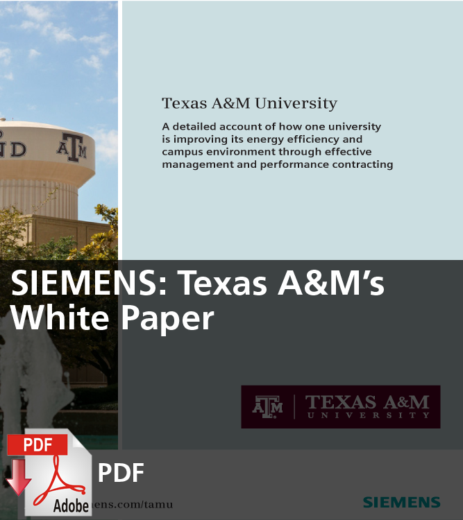 SIEMENS Texas A&M's White Paper (PDF)